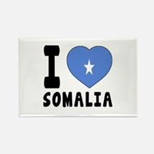 I Love Somalia Rectangle Magnet