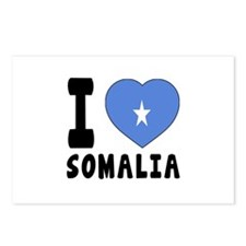 I Love Somalia Postcards (Package of 8)
