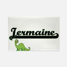 Jermaine Classic Name Design with Dinosaur Magnets