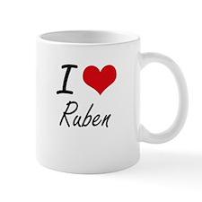 I Love Ruben Mugs