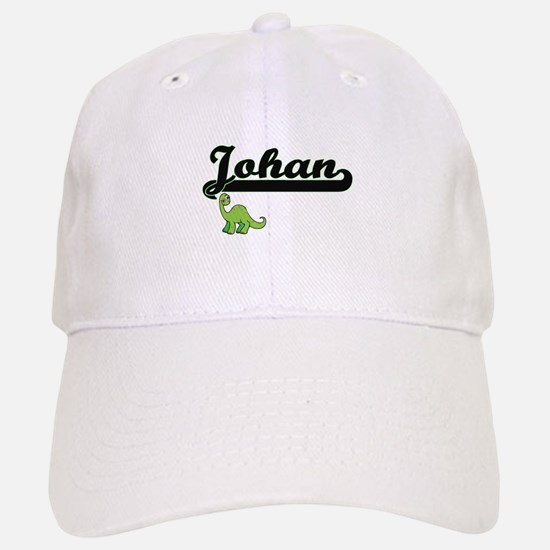 Johan Classic Name Design with Dinosaur Baseball Baseball Cap