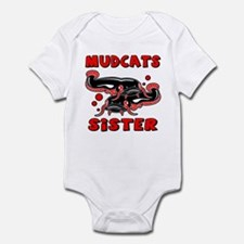 Mudcats Sister Infant Bodysuit