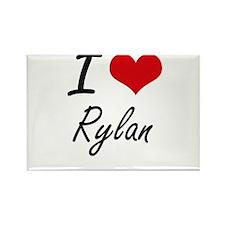 I Love Rylan Magnets