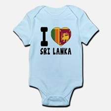 I Love Sri Lanka Infant Bodysuit