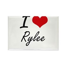 I Love Rylee Magnets