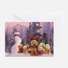 Snowman Shar Pei Greeting Cards (Pk of 10)