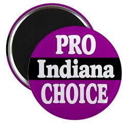Pro-Choice Indiana Magnet