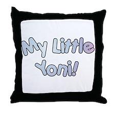 My Little Yoni Throw Pillow