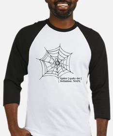 Spiders: Nope Baseball Jersey
