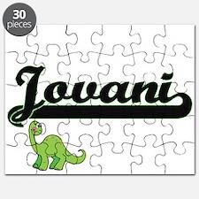 Jovani Classic Name Design with Dinosaur Puzzle