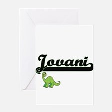 Jovani Classic Name Design with Din Greeting Cards