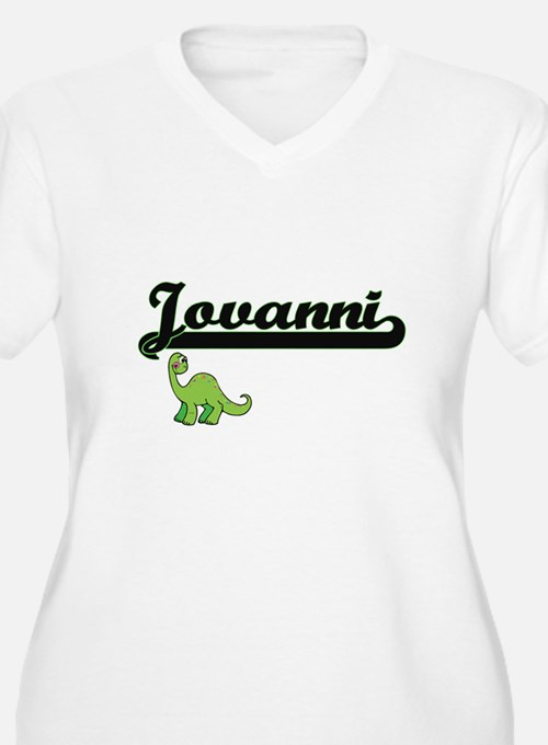 Jovanni Classic Name Design with Plus Size T-Shirt