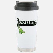 Jovany Classic Name Des Stainless Steel Travel Mug