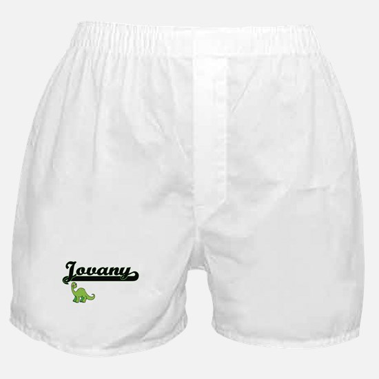 Jovany Classic Name Design with Dinos Boxer Shorts