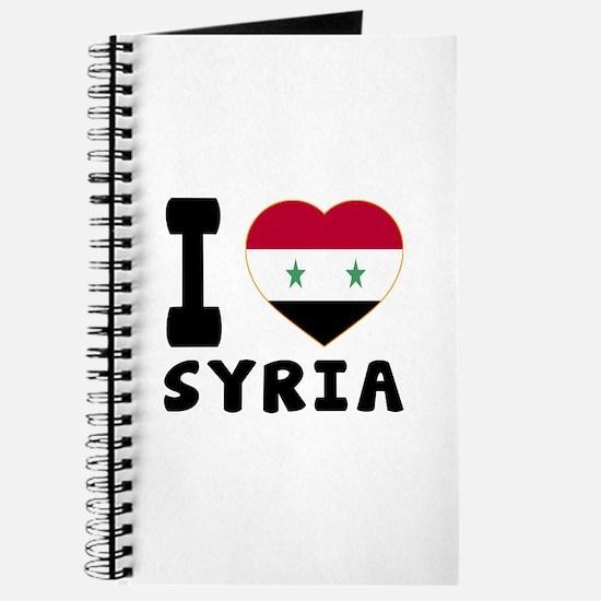 I Love Syria Journal