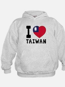 I Love Taiwan Hoodie