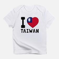 I Love Taiwan Infant T-Shirt