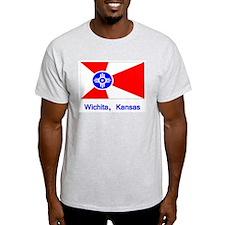 Wichita KS Flag T-Shirt