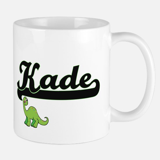 Kade Classic Name Design with Dinosaur Mugs