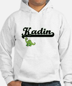Kadin Classic Name Design with D Hoodie