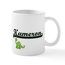 Kameron Classic Name Design with Dinosaur Mugs