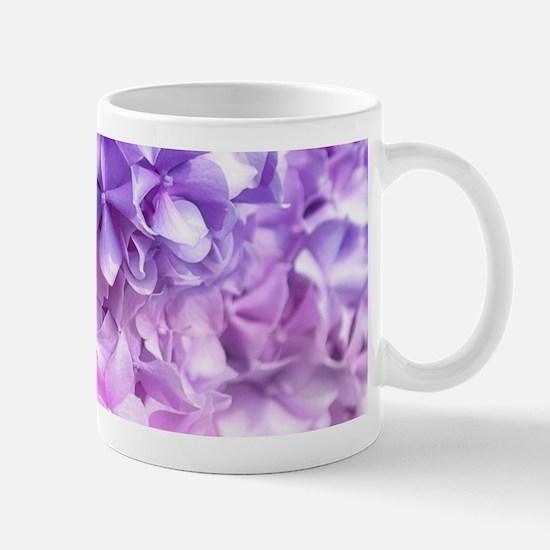Hydrangea Rainbow Mug