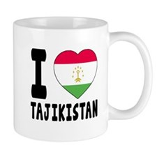 I Love Tajikistan Mug