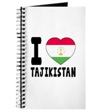 I Love Tajikistan Journal