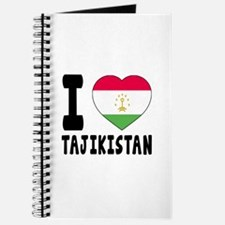 I Love Tajikistan Journal