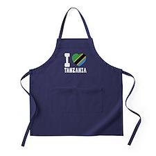 I Love Tanzania Apron (dark)