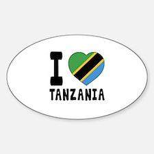I Love Tanzania Decal