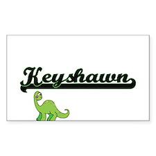 Keyshawn Classic Name Design with Dinosaur Decal
