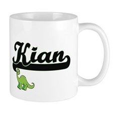 Kian Classic Name Design with Dinosaur Mugs
