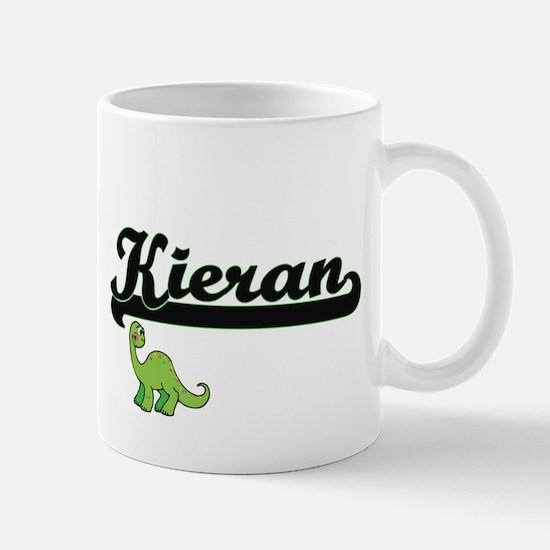 Kieran Classic Name Design with Dinosaur Mugs