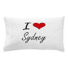 I Love Sydney Pillow Case