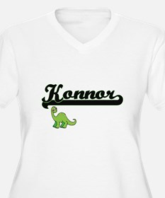 Konnor Classic Name Design with Plus Size T-Shirt