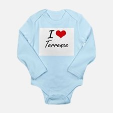 I Love Terrence Body Suit