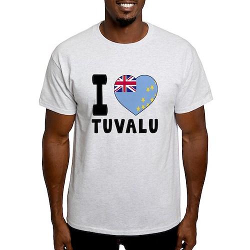 I Love Tuvalu T-Shirt