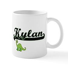 Kylan Classic Name Design with Dinosaur Mugs