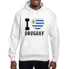 I Love Uruguay Hoodie