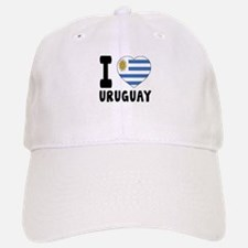 I Love Uruguay Baseball Baseball Cap