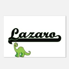 Lazaro Classic Name Desig Postcards (Package of 8)