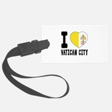I Love Vatican City Luggage Tag
