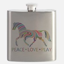Cool Horse girl Flask