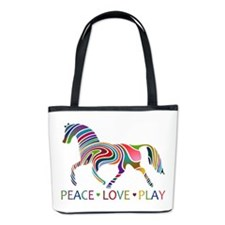 Funny Horseback riding Bucket Bag