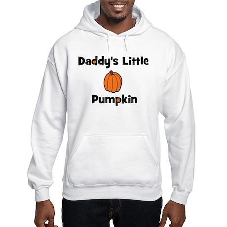 Daddy's Little Pumpkin Hooded Sweatshirt