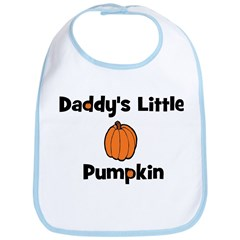 Daddy's Little Pumpkin Bib