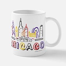 Chicago Fun Skyline Mugs