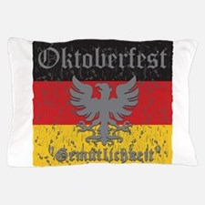 Oktoberfest Flag and Eagle Pillow Case