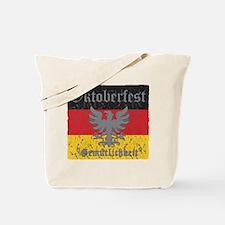 Oktoberfest Flag and Eagle Tote Bag
